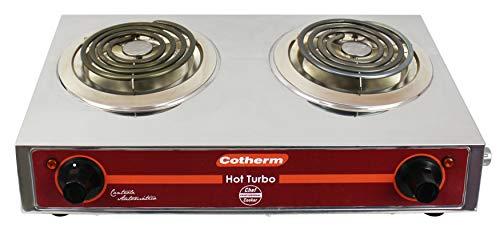 Fogão Hot Turbo 2 Bocas 2x1250 W 220 V Cotherm Inox