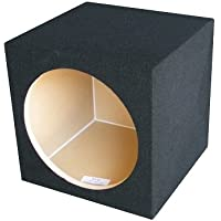 Ground Shaker S112 12-Inch Single Square Sealed Enclosure Subwoofer Box