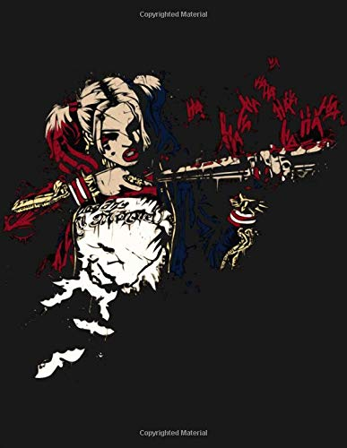 Sketchbook Harley Quinn Themed Gift For Birds Of Prey Fans Blank Paper For Drawing And Sketching The Perfect Notebook To Save All Your Sketches And Drawings Media Beautiful Notebooks 9781711186481