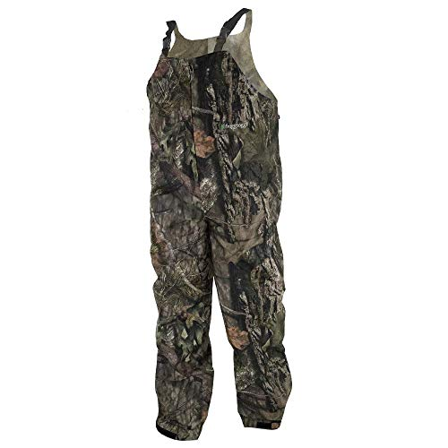 FROGG TOGGS Pro Advantage Bib, Realtree Edge, Size X-Large Pro Advantage Bib, Realtree Edge, X-Large