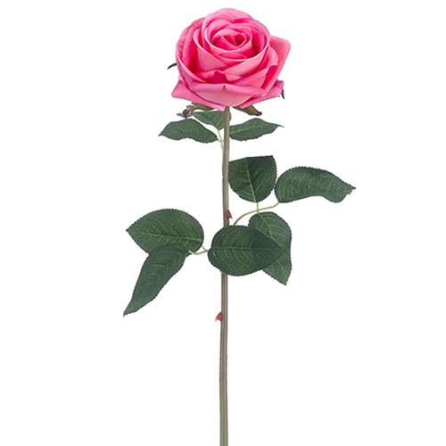 20'' Silk Real Touch Rose Flower Spray -Salmon (pack of 12) by SilksAreForever