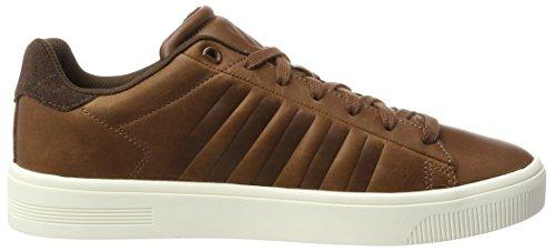 Braun Swiss Tortoise Sneaker Herren Shell Court Marshmellow Frasco Chocolate K 6xZPXx