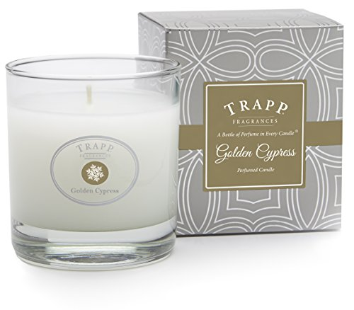 Trapp Seasonal Collection Golden Cypress Poured Scented Candle, 7 Ounce
