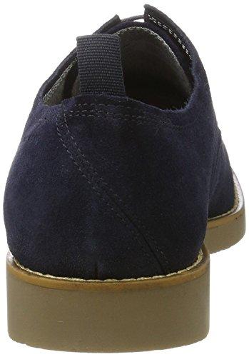 Vagabond Belgrano, Zapatos de Cordones Derby para Hombre Azul (Indigo)