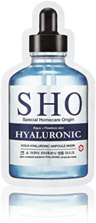 Hyaluronic Acid to Highly Moisturize and retain Moisture to prmote collagen synthesis for Anti-Aging Benefits Targeted Hydrating Face Masks - 6 count