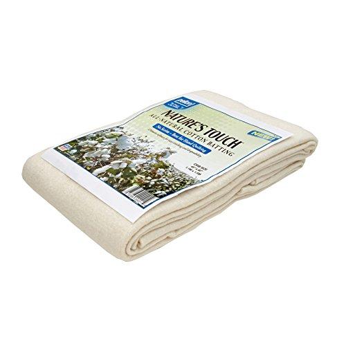 Pellon Natural Cotton Batting Crib 45in X 60in ()