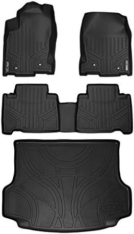 MAXLINER Floor Mats and Cargo Liner Set Black for 2015-2021 Lexus NX200t / NX300 / NX300h