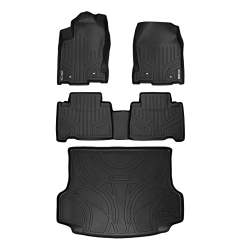 MAX LINER A0168/B0168/D0168 Custom Fit Floor Mats and Cargo Liner Set Black for 2015-2019 Lexus NX200t / NX300 / NX300h