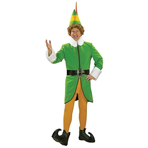 Deluxe Buddy the Elf Costume - X-Large - Chest Size 50 (Deluxe Buddy The Elf Costume)
