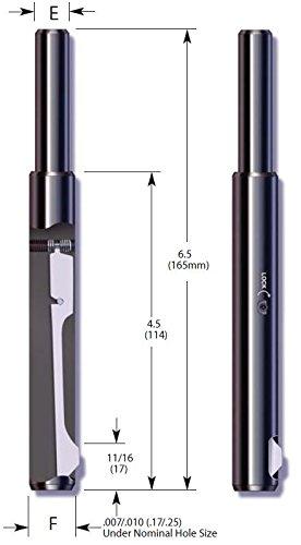 E-Z Burr Tool EZL0625-02 (5/8 inch) HSS (Pack of 1)