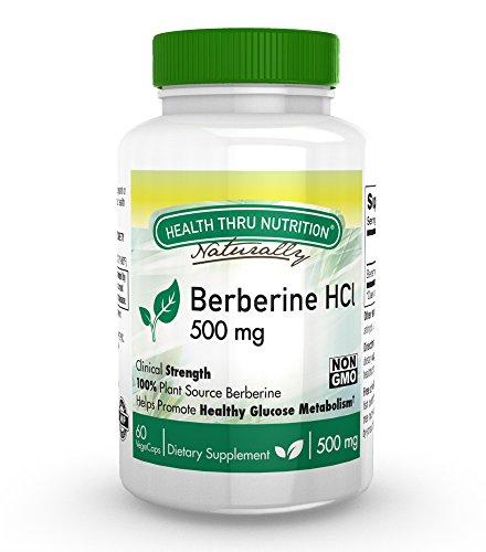 Berberine HCl 500mg Vege Capsules Non GMO