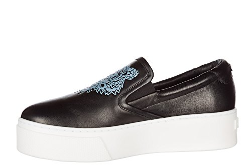 in Nuove Nero Sneakers Pelle Slip Originali Kenzo Donna on qt1OR