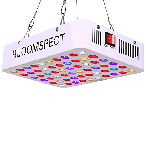 BLOOMSPECT 300W LED Grow Light for Indoor Greenhouse Hydroponic Plants Veg Bloom