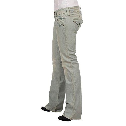 Guess - pantalón vaquero para mujer de cadera escondido bajo Rise straight leg Jeans