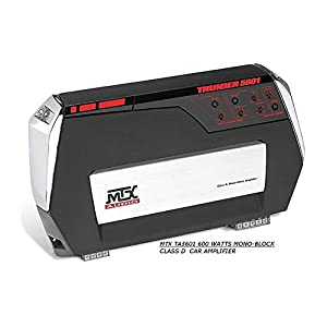 MTX Thunder TA5601 1x600W Mono-Block Class D Car audio Amplifier