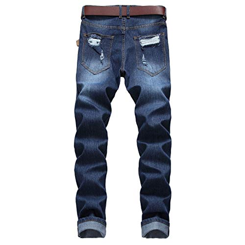 Jeans Stretch Blue Slim Pants Denim Con In Pantaloni Uomo Da Pw0ndS1q