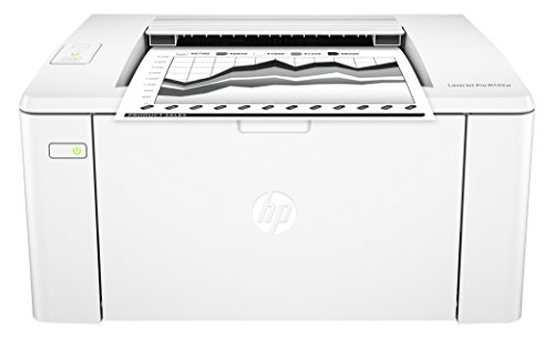 HP LaserJet Pro M102w Schwarzweiß-Laserdrucker (Drucker, WLAN, JetIntelligence, HP ePrint, Apple Airprint, USB, 600 x 600 dpi) weiß