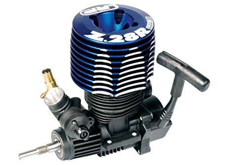 LRP Electronics Spec 3 Rear Exhaust Slide Carburetor Engine with Pull Start Big Block Rc Engines