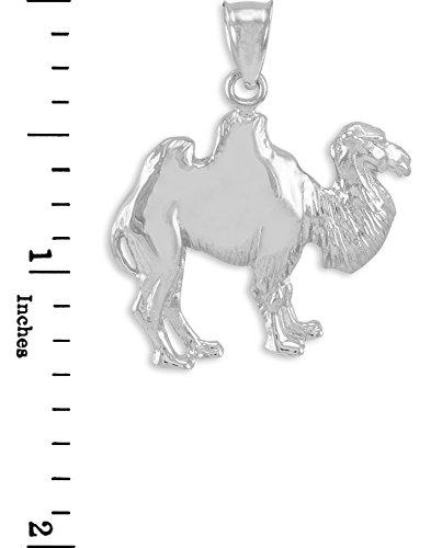 10 ct 471/1000 Or Blanc Chameau Pendentif