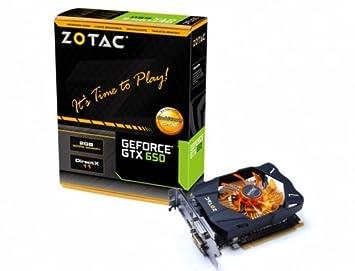Amazon.com: Zotac NVIDIA GeForce GTX 650 2 GB GDDR5 2DVI ...
