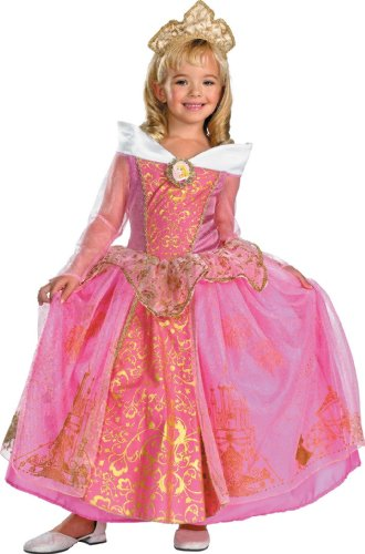 Storybook Aurora Prestige Child Costume - X-Small by Disguise