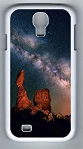Desert Night PC Hard Case Cover For Samsung Galaxy S4 SIV I9500 Case and Cover White