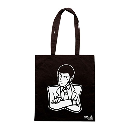 Borsa Lupin Iii - Nera - Cartoon by Mush Dress Your Style