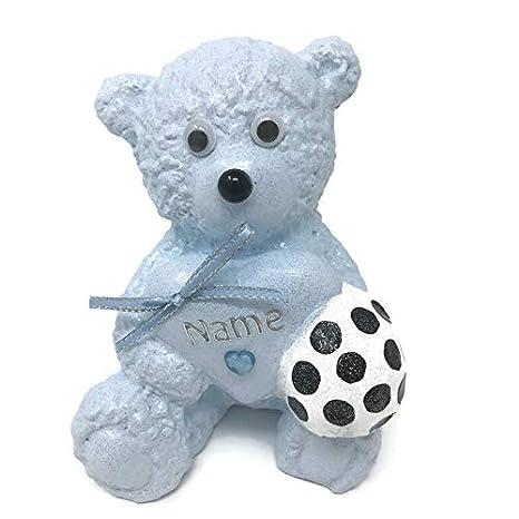Primo fútbol bebé azul Love corazón oso de peluche al aire libre ...