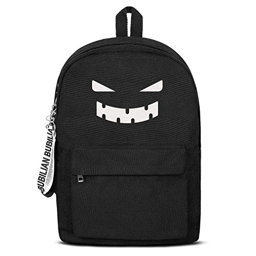 Pumpkin Face Halloween Crafts Laptop Backpack Fashion Water Resistant Canvas Rucksack Grocery For Men Women And Kids