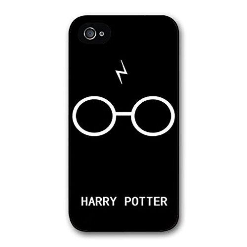 on sale d700d 88914 Generic Harry Potter Glasses Case for iPhone 5 5s SE Black, Harry Potter  iPhone 6 6s case Hard Plastics Protective Cases (fit for iPhone 4 4s)