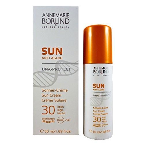 Annemarie Börlind Sun Anti Aging unisex, DNA Protect Cream SPF30, 1er Pack (1 x 50 ml)