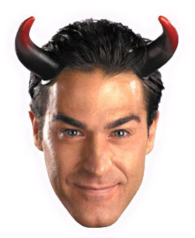 Devil Costumes Mens (Disguise Costumes Oversized Devil Horns, Adult)