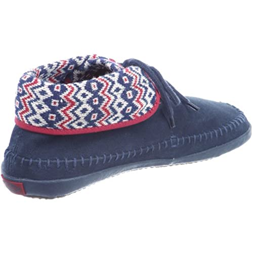 b2e14fc598 Vans Womens Mohikan Nordic Moccasin Slippers Navy well-wreapped ...