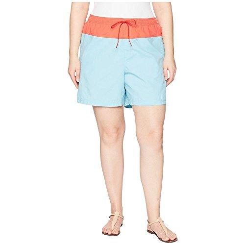 敬意を表して悲劇的な汚染(コロンビア) Columbia レディース ボトムス?パンツ ショートパンツ Plus Size Sandy River' Color Blocked Shorts [並行輸入品]