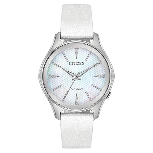Citizen Modena Mother of Pearl Dial Ladies Watch EM0590-03D