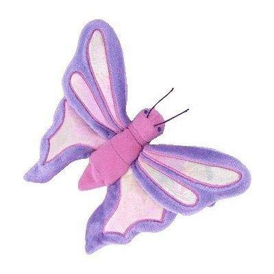 TY Beanie Babies Flitter the Butterfly - Periwinkle and Pink ()