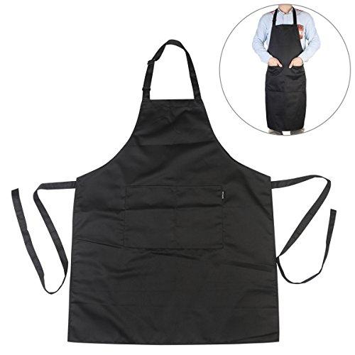 PIXNOR Black Adjustable Kitchen Pockets