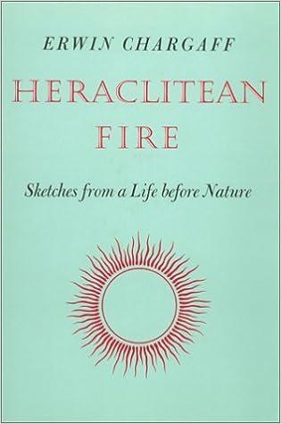 Heraclitean Fire