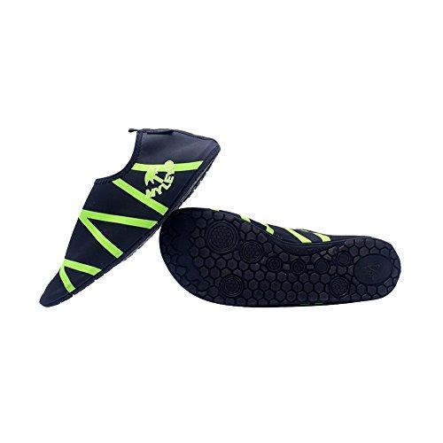 moresave al aire libre piel para natación y buceo calcetines para deportes de agua zapatos de letra Yoga Beachwear verde