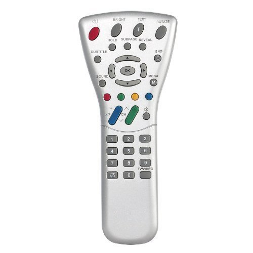 Rlsales Universal Remote Control Fit for Sharp GA387WJSA GA293WJSA LC-20S2US-D LC-20S2US-R LC-13B4U LC-15PX1U LC-20PX1U AQUOS LCD HDTV (Aquos Lcd Hdtv)