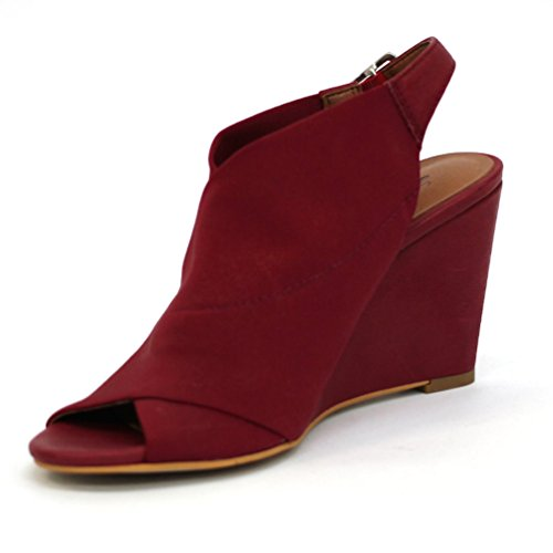 para Vestir Zapatos de Mujer Brand Lucky Rojo Granate qIzCw
