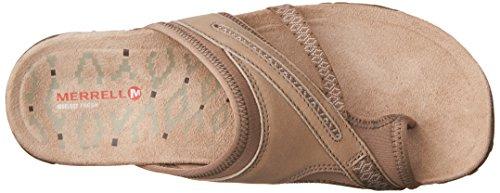 Beige Ii Post Merrell Taupe Heels Terran Taupe Women's Sandals pRpq0t