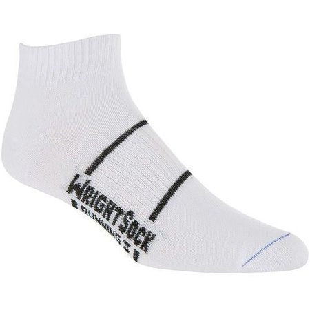 Wrightsock Running II Double-Layered Lo Socks - White 864 (2-Pack)