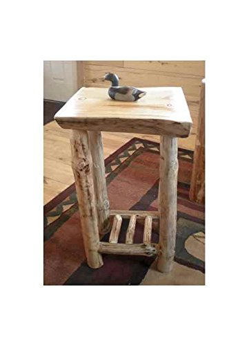 Twist Of Nature Slab End Table