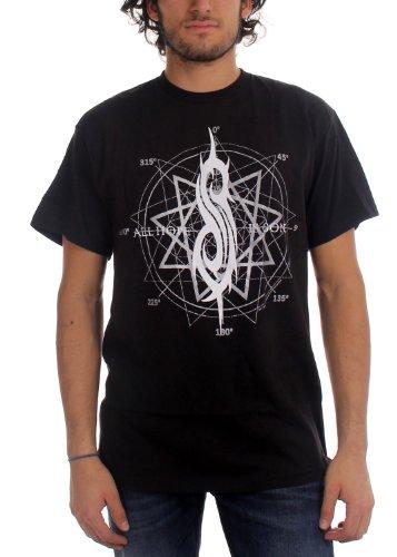 Slipknot - All Hope Star Mens T-Shirt In Black, Size: Large, Color: Black (Slipknot Chris)