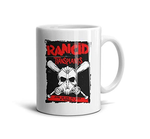 Geger Punk-Band-Rancid-Proof- Ceramic Coffee Mug Tea Cups 11 Ounces