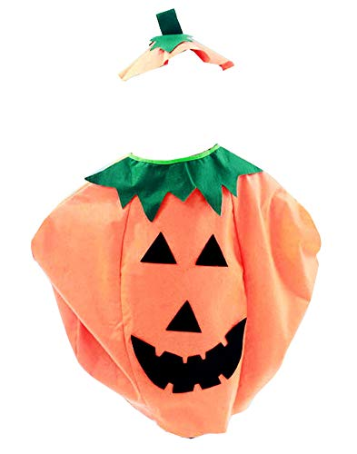Costume Props DIY Green Fruit Costume Children Show Costumes (Pumpkin) ()
