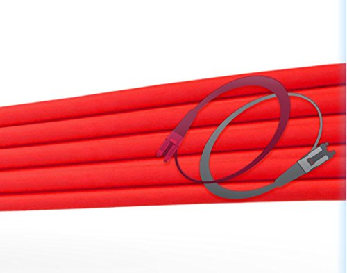 FiberCablesDirect - 50M OM1 LC ST Fiber Patch Cable   1Gb Red Duplex 62.5/125 LC to ST Multimode Jumper 50 Meter (164.04ft)   Length Options: 0.5M - 300M   1gb 10gb lc-st mmf upc sfp 1gbase mm dx ofnr by FiberCablesDirect (Image #5)