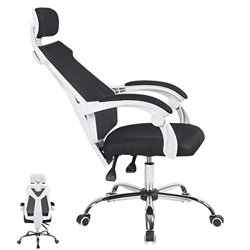 ORAF Gaming Office Chair Gaming Racing Ergonomic Chair with Backrest and Seat Height Adjustment Gaming Mesh Swivel Chair