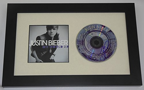 Justin Bieber My World 2.0 Hand Signed Autographed Music Cd Compact ...